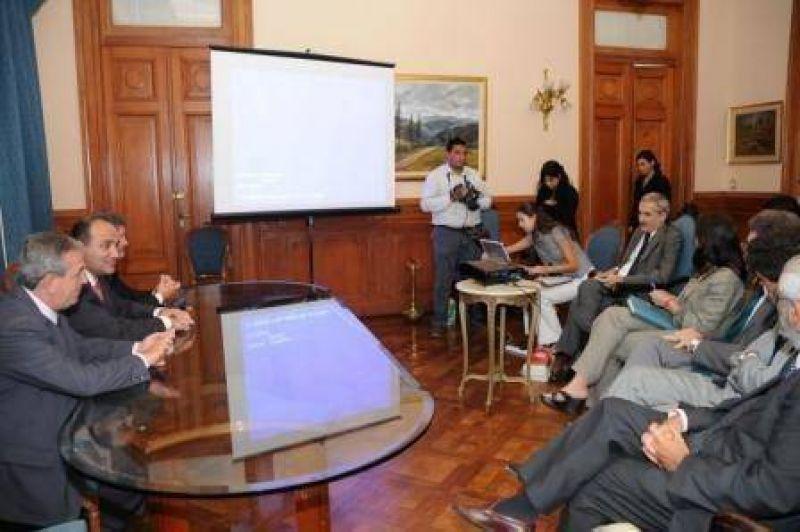 El Vicegobernador mantuvo una reunión con un miembro representativo de la ONU.