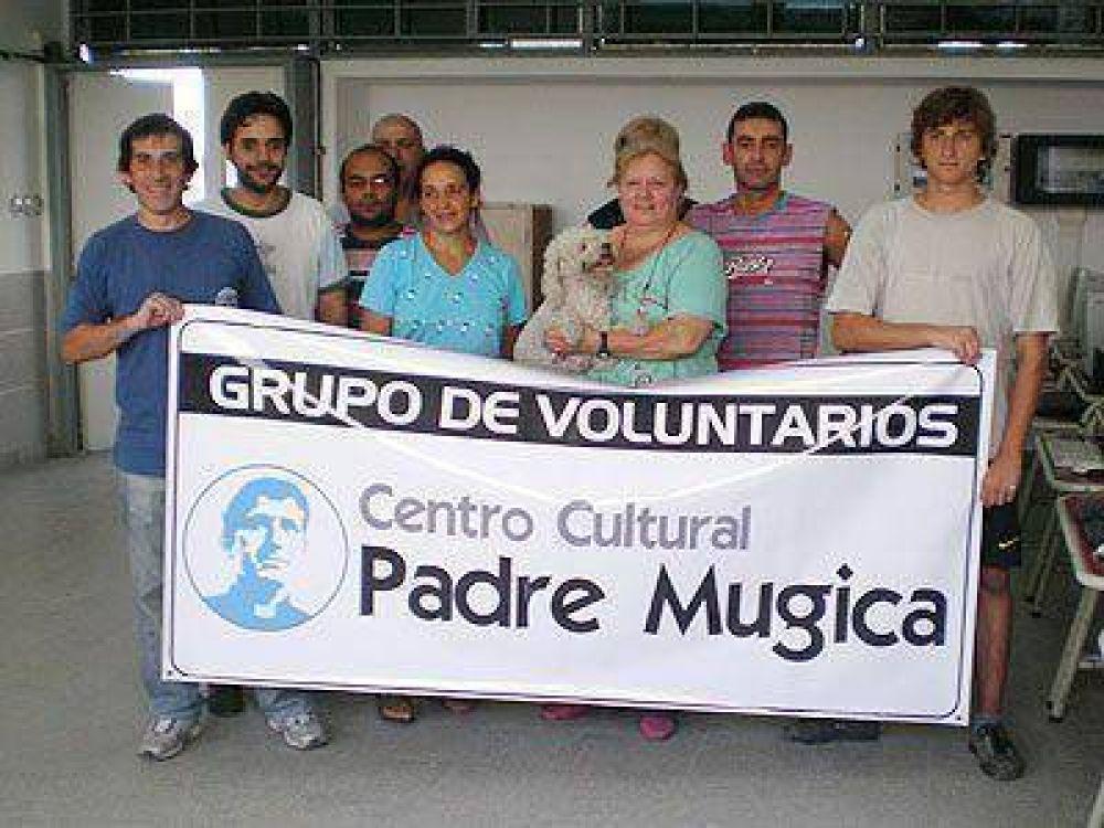 Jornada solidaria en una escuela de Villa Urbana.