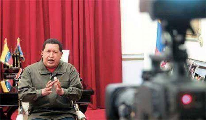 La entrevista de la cadena de TV estadounidense CNN a Hugo Chavez