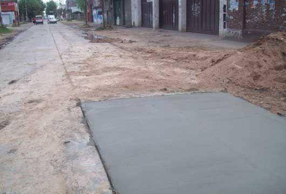 Importantes obras en San Miguel Oeste.