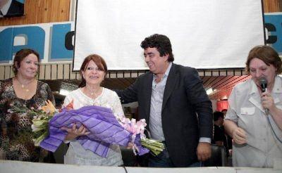 Homenaje del PJ por el día internacional de la mujer
