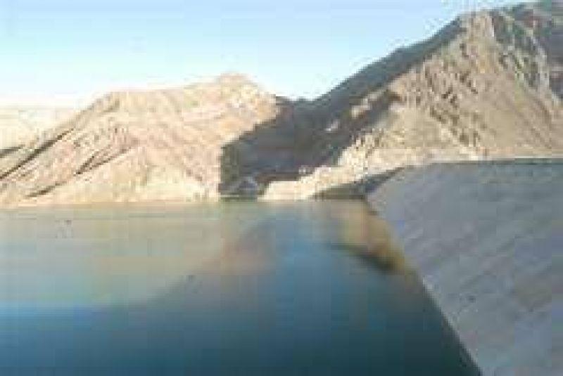 Ullum: el nivel de agua más bajo en al menos los últimos 5 veranos