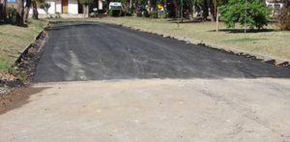 Finalizaron la pavimentación de varias calles en el Barrio Evita 1.
