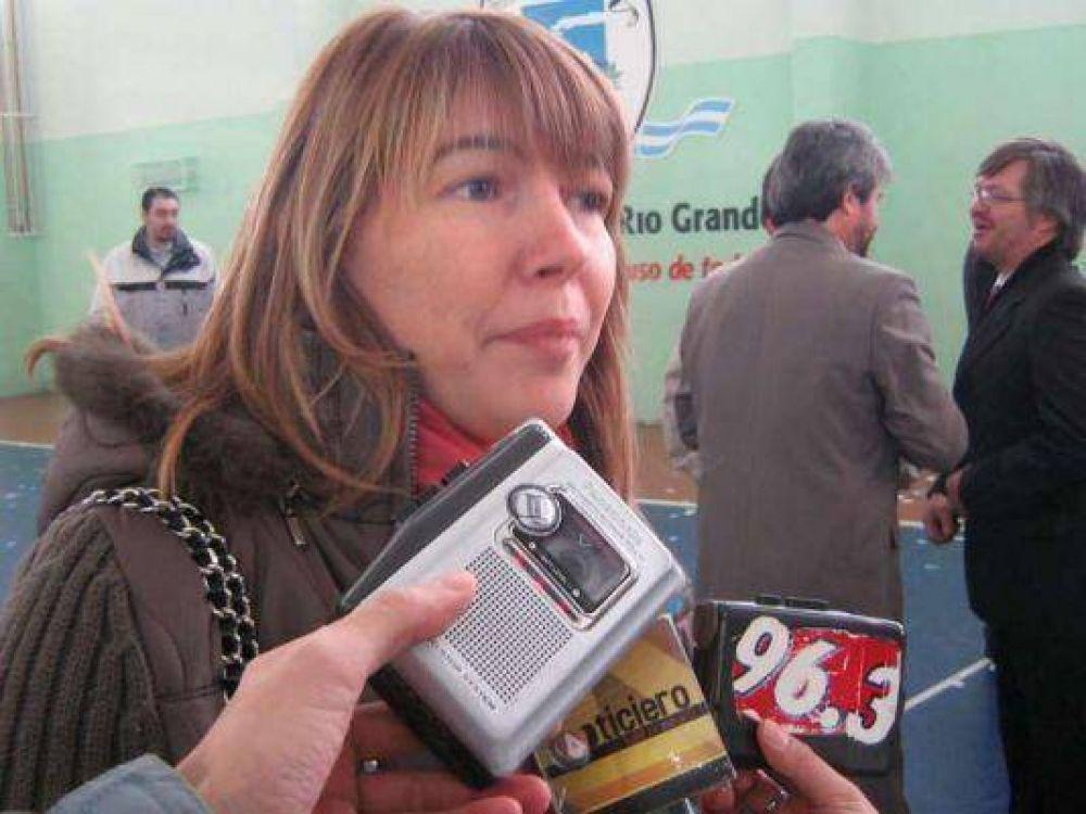"""Rosana Bertone: """"Por mi, que Fabiana Ríos diga que los vuelos los consiguió Elisa Carrió""""."""