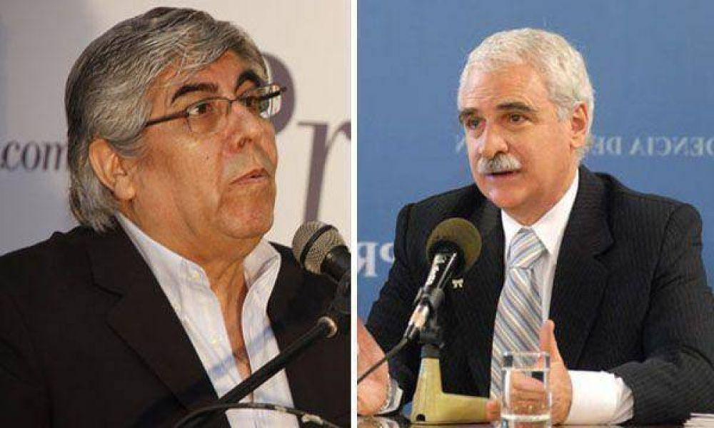 Sindicatos y empresarios son responsables en morigerar la crisis, dijo Hugo Moyano