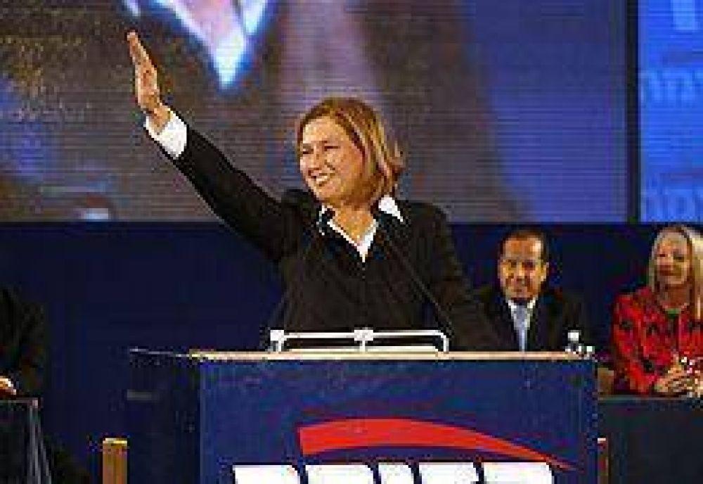En una ajustada definición, Livni gana las elecciones en Israel, pero dudan que pueda formar gobierno