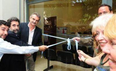 Rossi participó de la inauguración de la nueva sede de la Gerencia de Empleo de Rosario