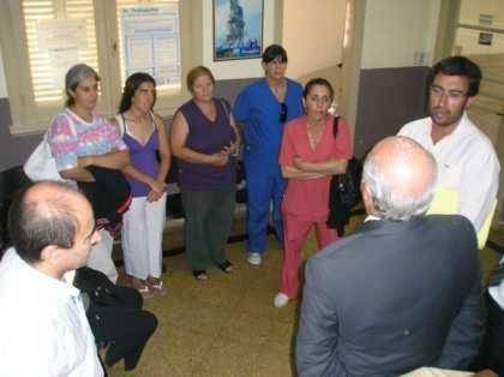 Conflictos laborales en el hospital Simplemente Evita.