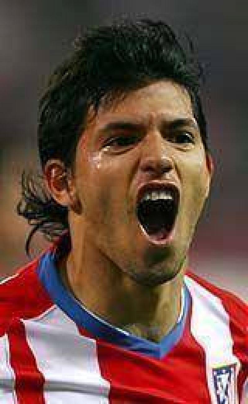 Atlético dice que Agüero no se irá al Real Madrid.