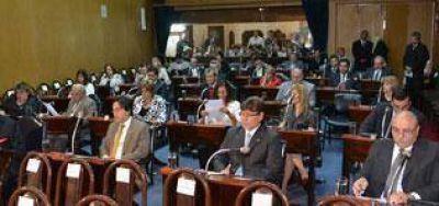 Legislatura : Designaron autoridades de comisiones