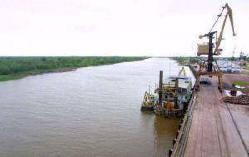 Audiencia pública en Barranqueras. Hidrovías operará hasta Confluencia