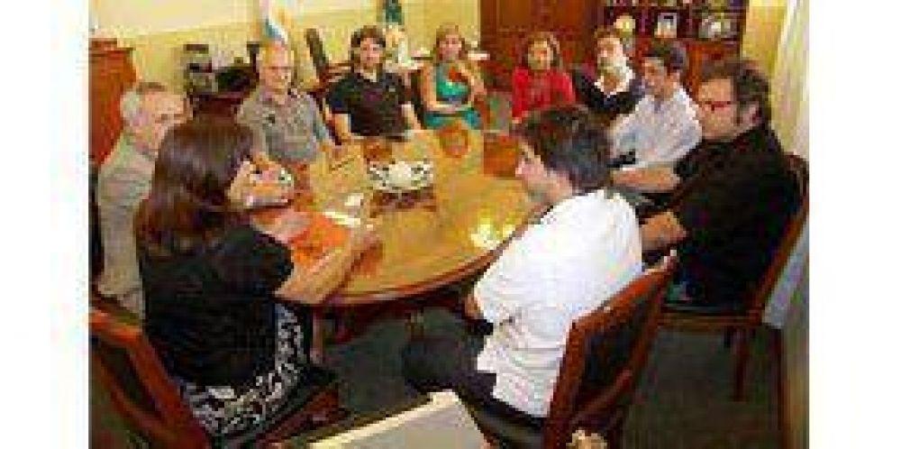 El presidente de Sony BMG se reunió con Blanca Pereyra