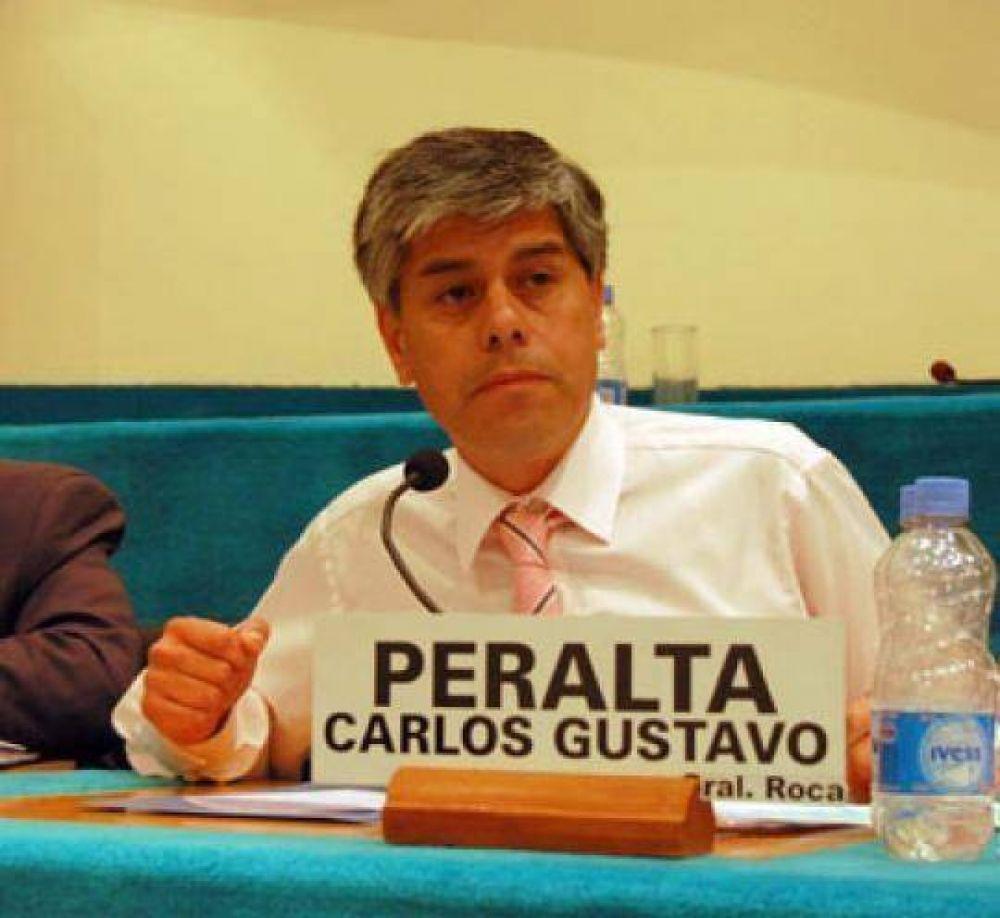 Río Negro: Peralta pide reunión de la Comisión de Seguridad.
