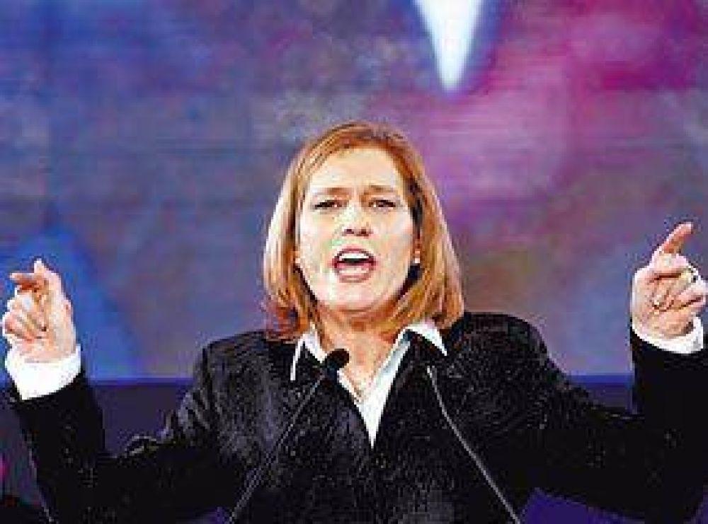 Febriles gestiones de Netanyahu y Livni para formar gobierno