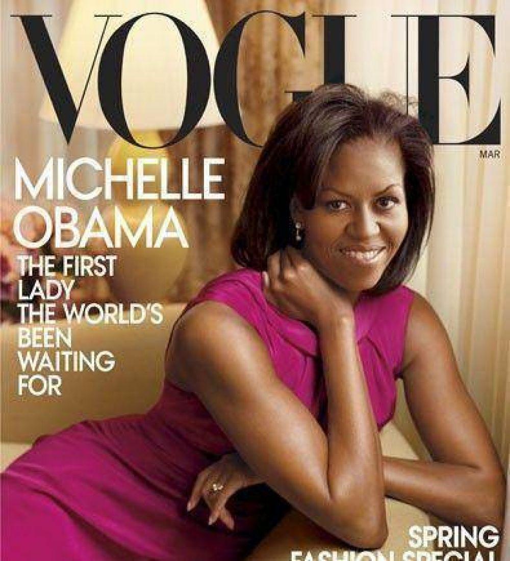 Michelle, portada de la revista Vogue