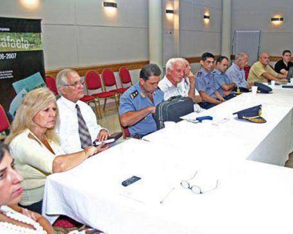 Reunión de la junta municipal de Defensa Civil: Escaso interés de los concejales por el Plan de Contingencia