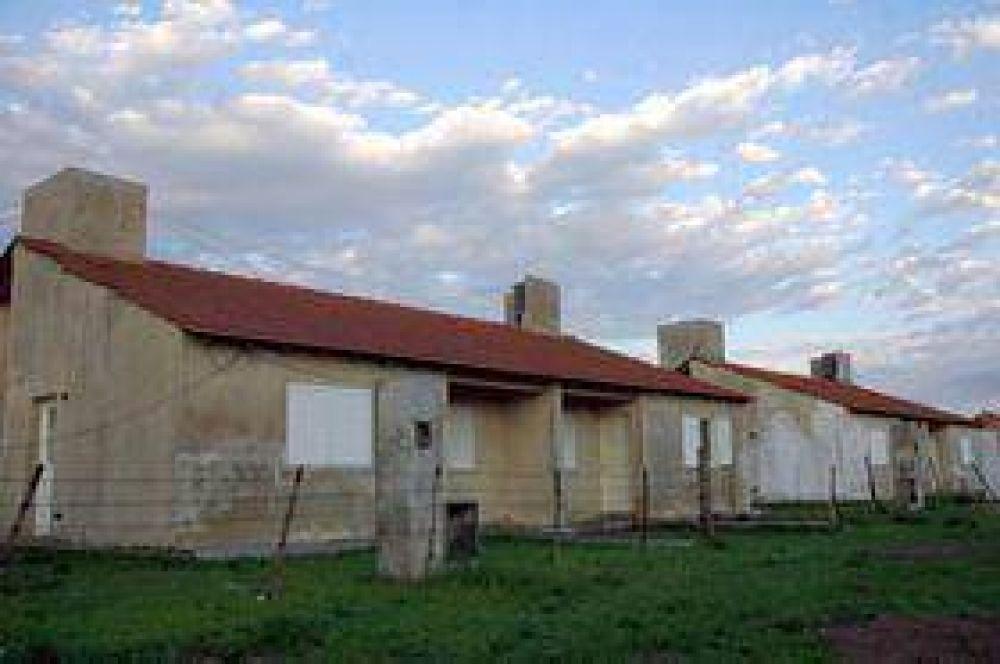 En abril se reanudaría la construcción de viviendas del Barrio Bancarios