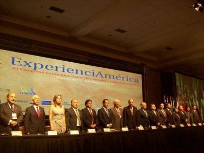FLORENCIO VARELA: Pereyra inauguró la Cumbre Hemisférica
