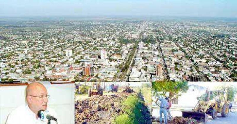 Los 126 barrios de la capital generan unas 120 toneladasde basura diaria