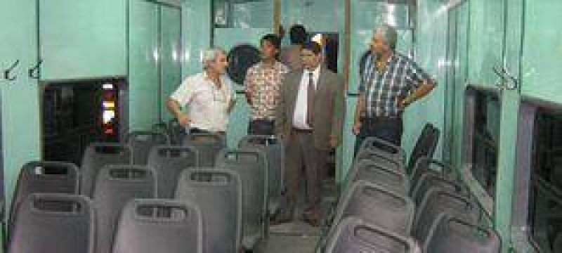 Preparan pasantías en los talleres ferroviarios.