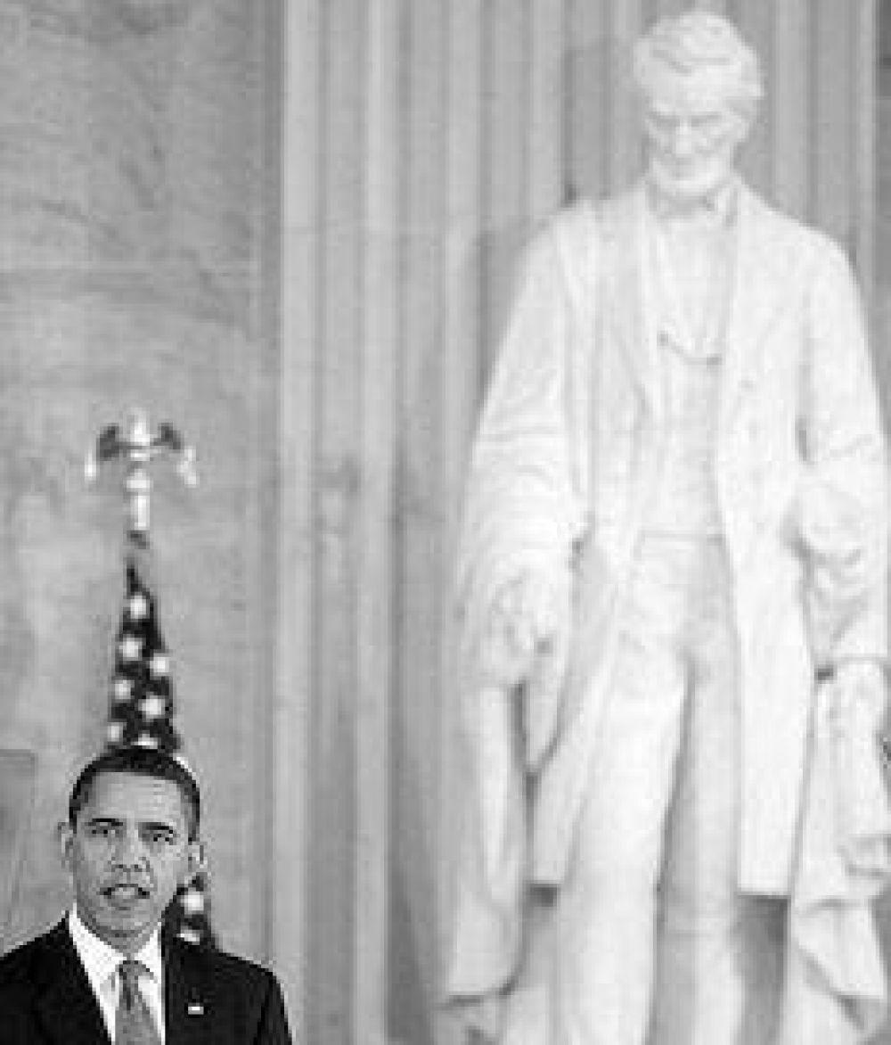 Obama rindió homenaje a Abraham Lincoln