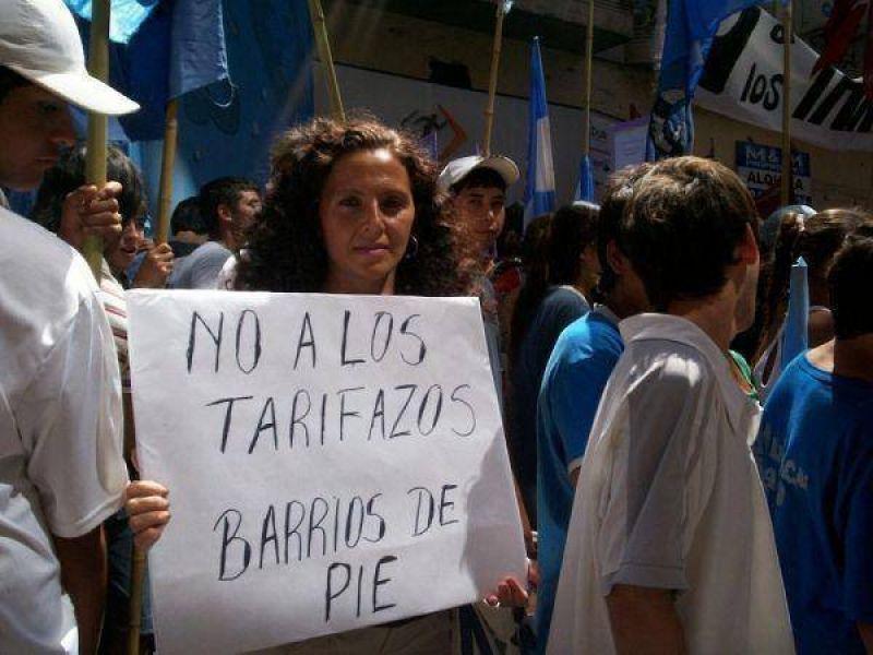 Convocan a cacerolazo en Quilmes Centro contra el tarifazo.