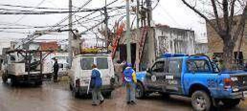 Ahora la EPE denunciar� a los vecinos que agredan a las cuadrillas