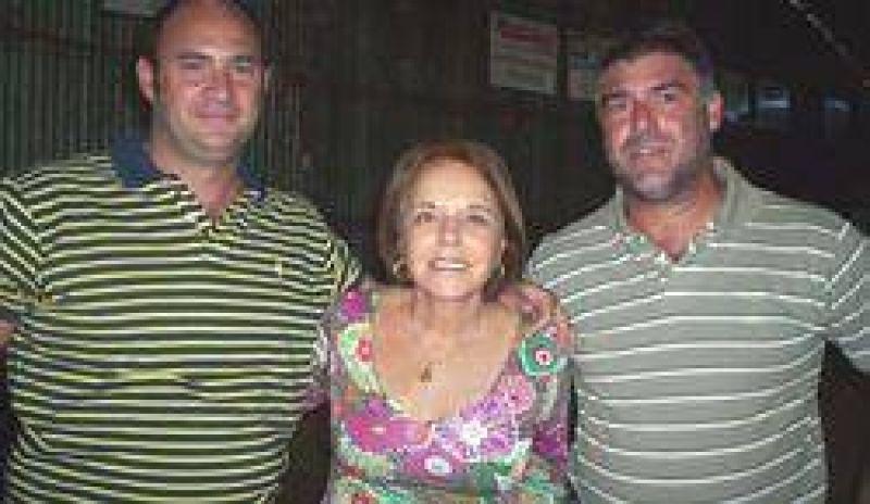 Hilda Duhalde se reunió con empresarios y productores rurales.