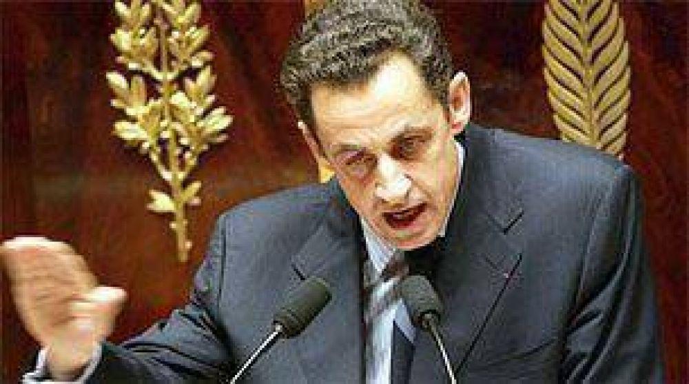 Sarkozy quiere bloquear los sitios de pornografía infantil.