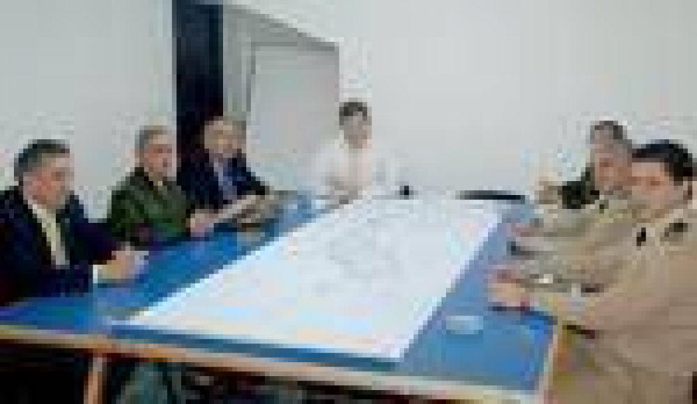 Se reunió el Consejo Provincial de Complementación para Seguridad Interior.