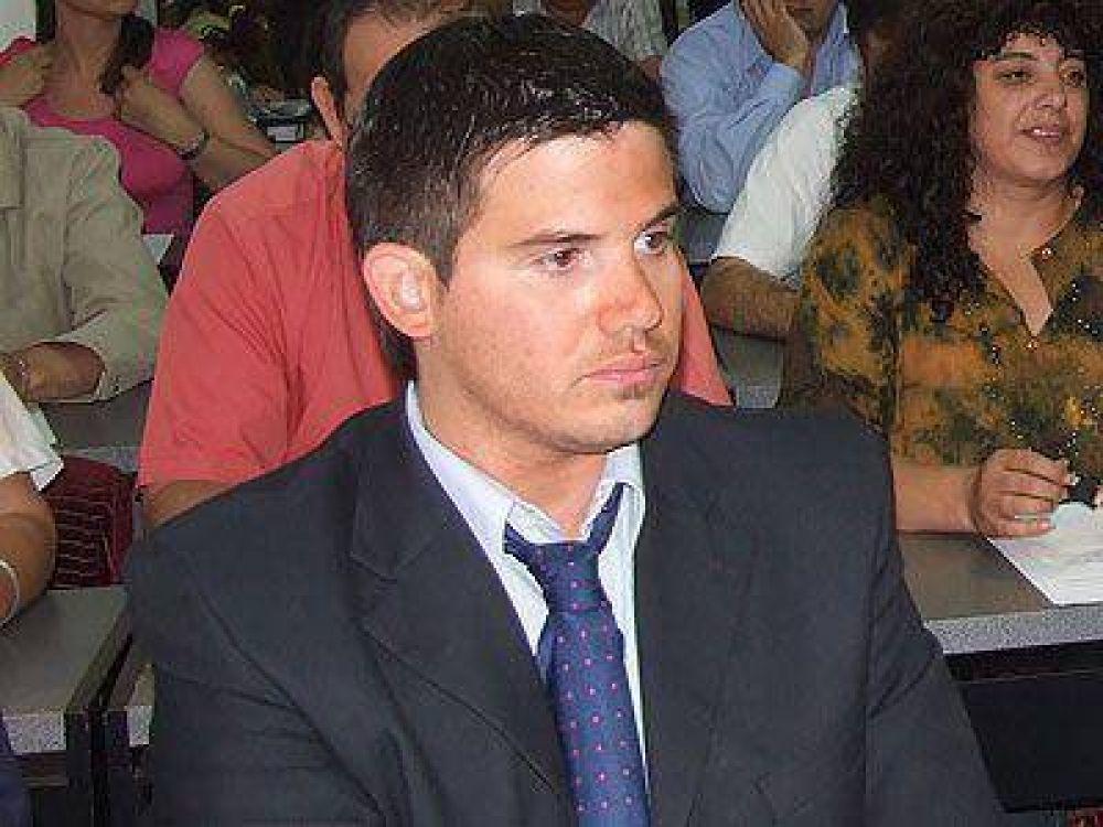 Fuentes afirmó que el vecinalismo respaldará a Giustozzi.