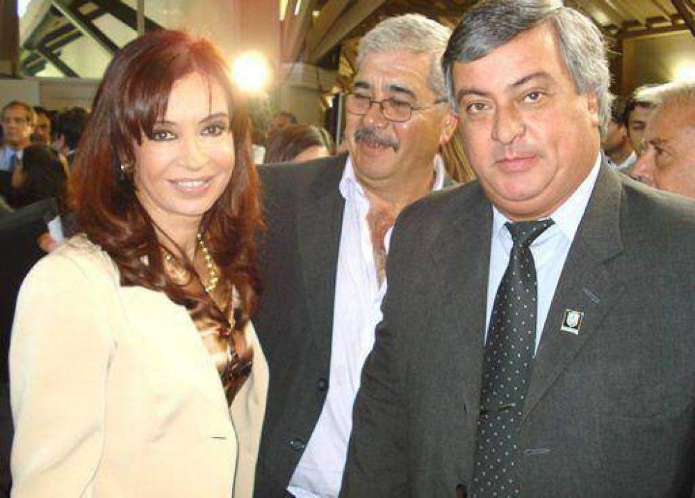 Selva estuvo con Cristina Fernández y Emilio Monzó.