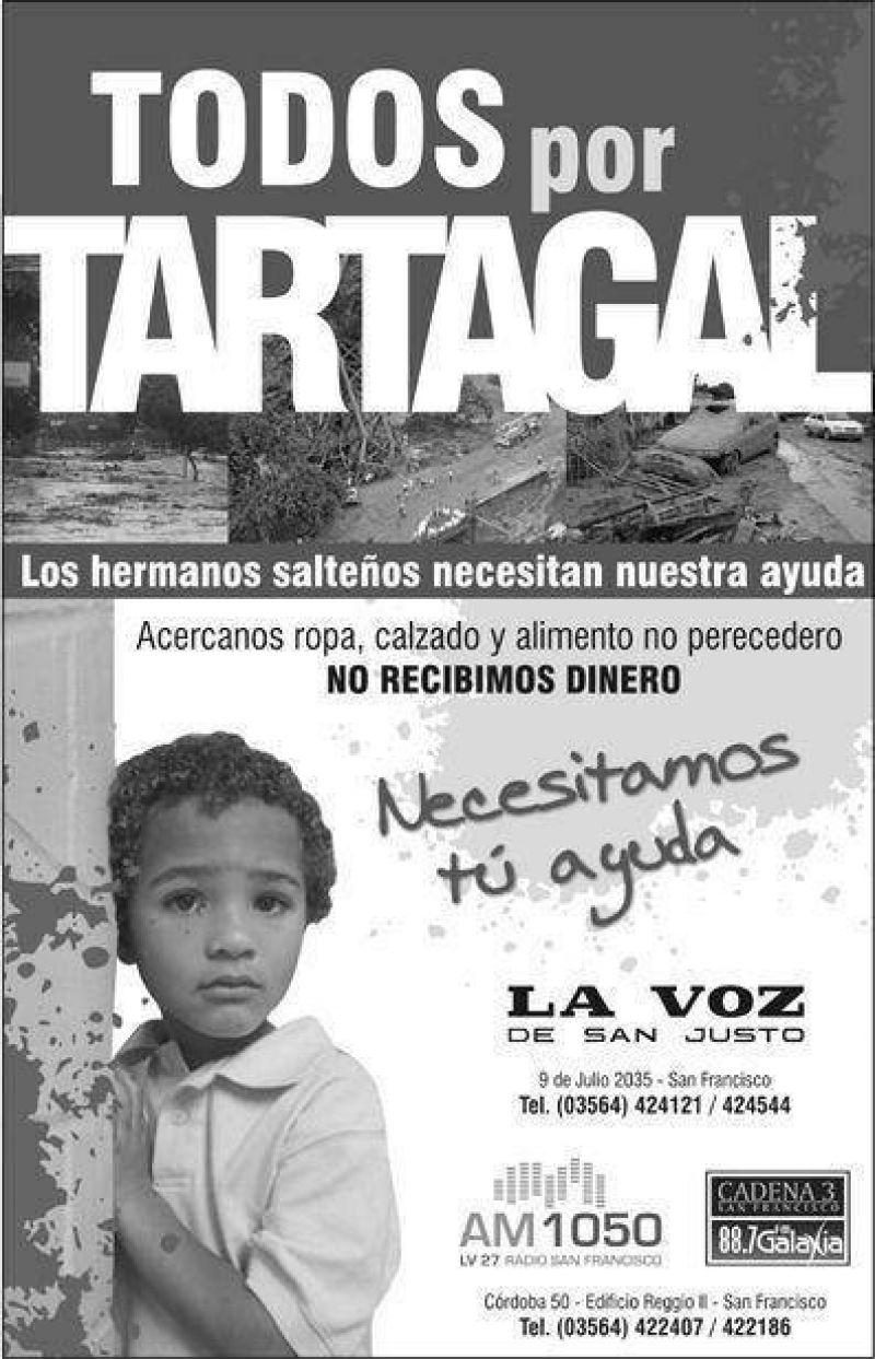 Ayudemos a Tartagal