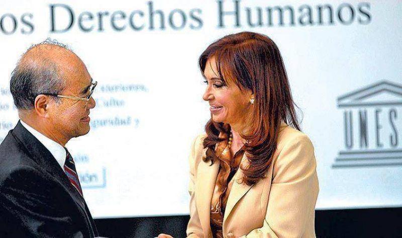 Cristina reclam� por las demoras en los juicios a los represores.