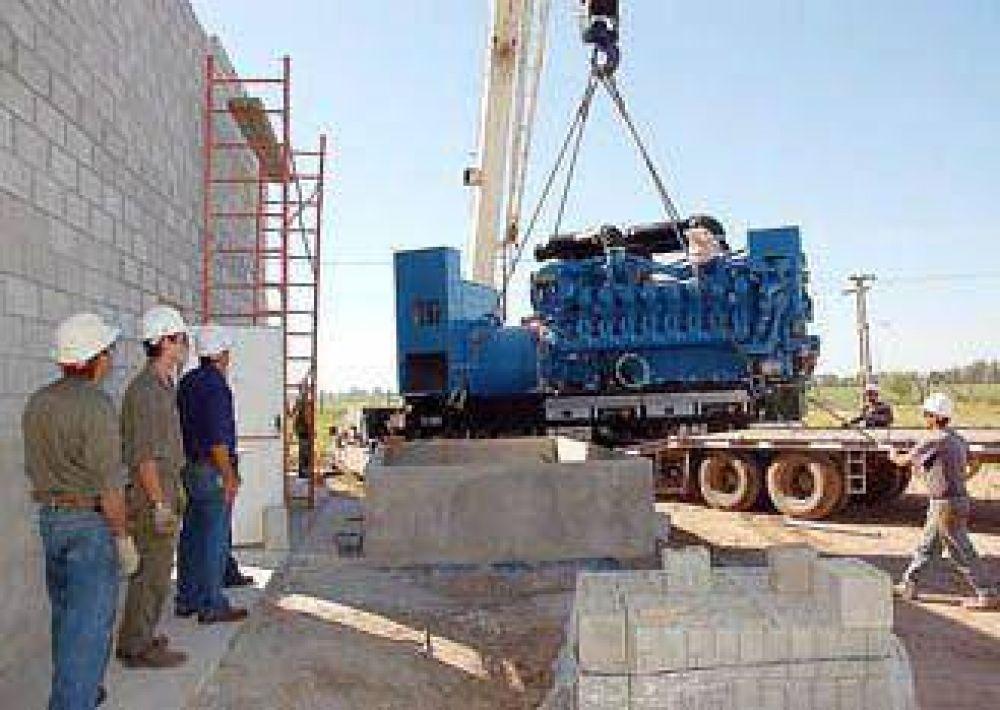 La Cooperativa instaló un nuevo generador eléctrico.