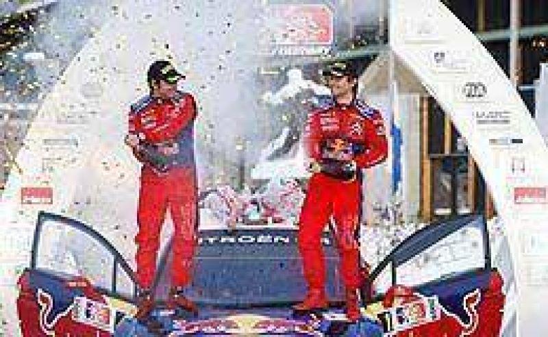 Imparable, Loeb se quedó con el Rally de Noruega.