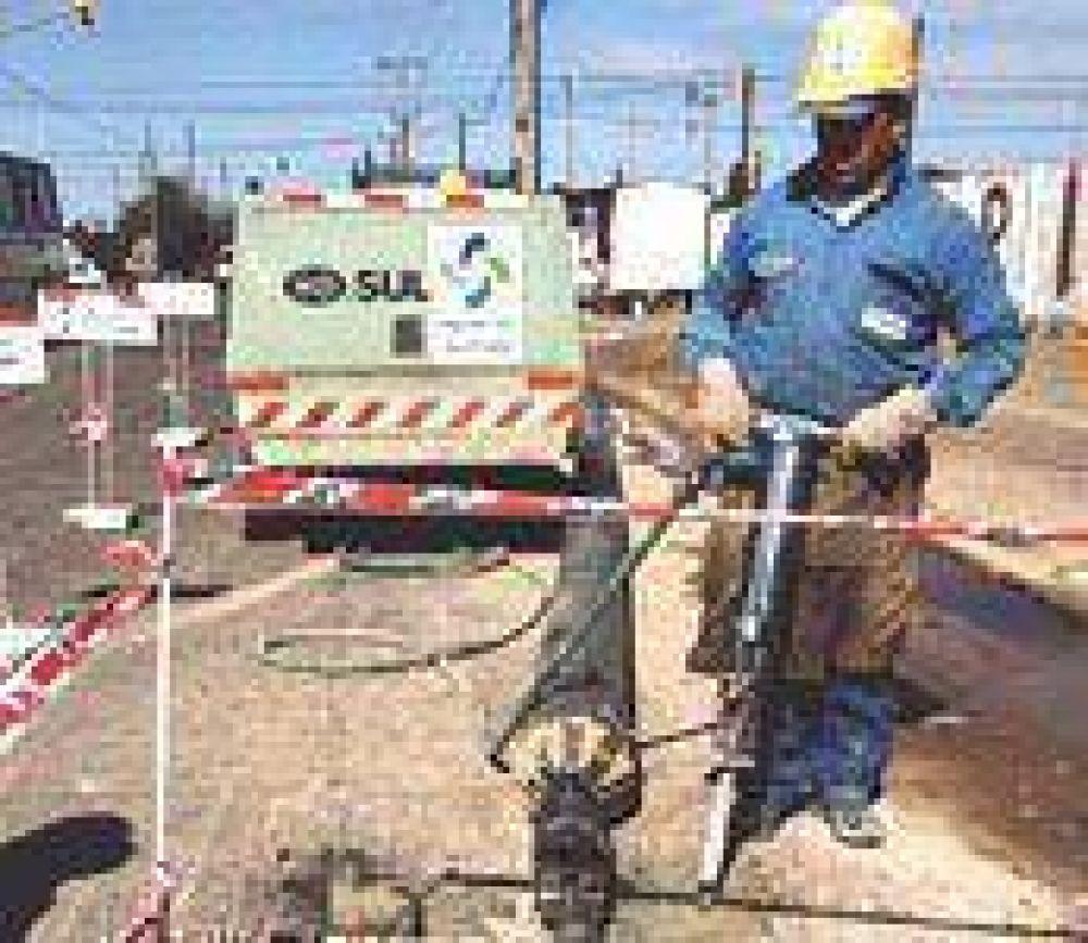 Mejoran la provisión de agua potable en el oeste de la capital.