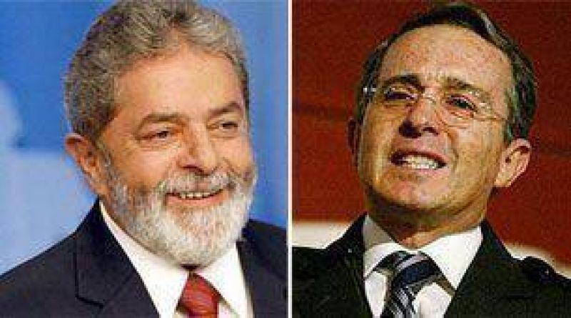 Uribe inicia gira por Brasil