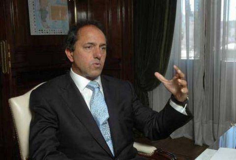 ITUZAINGO Scioli firmó un convenio con Descalzo