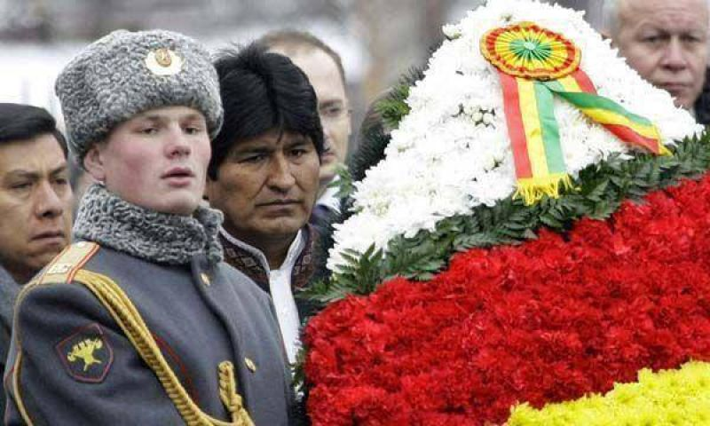 Evo Morales, en el Kremlin