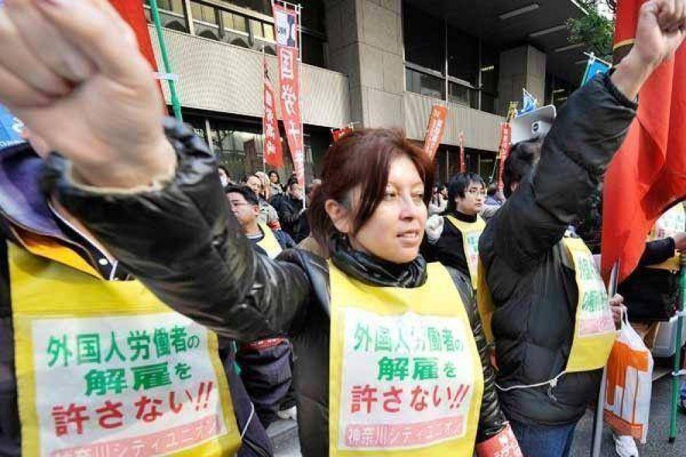 La economía japonesa se hunde en la recesión