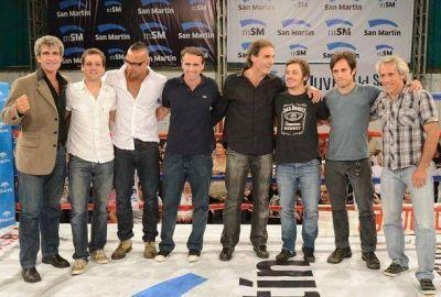 Katopodis lanzó la Escuela Municipal de Boxeo junto a destacadas figuras