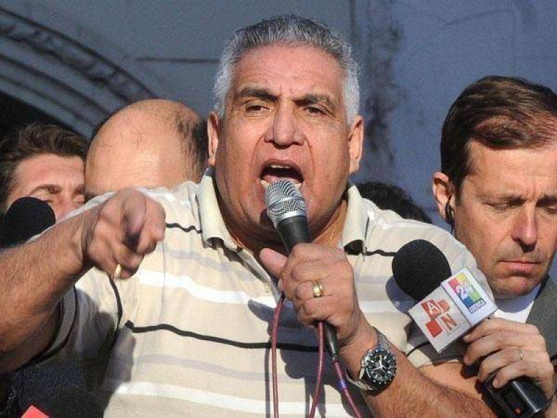 """""""Me tendría que ir del país si apoyara la reelección de Moyano en la CGT"""""""
