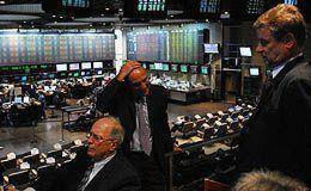 La Bolsa porteña se desplomó 4,5% en jornada negra para los mercados