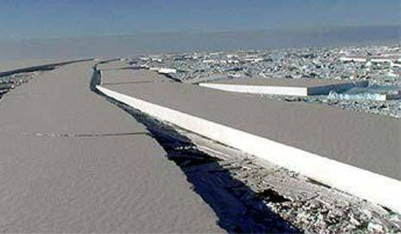 Ant�rtida: se desprende una superficie de hielo m�s grande que Hawai