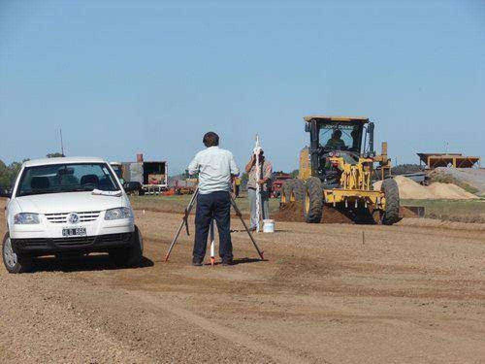 AVANCES PARA EL EUSEBIO MARCILLA  Preparan el autódromo para la pavimentación