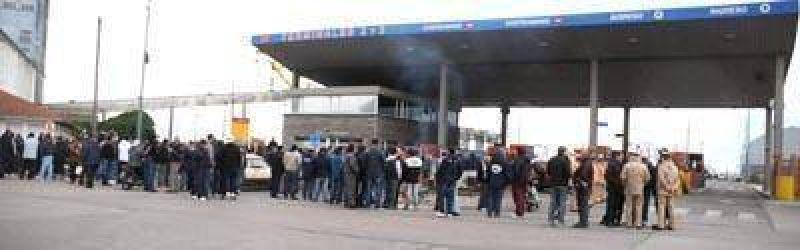 La actividad en el puerto de Mar del Plata contin�a paralizada
