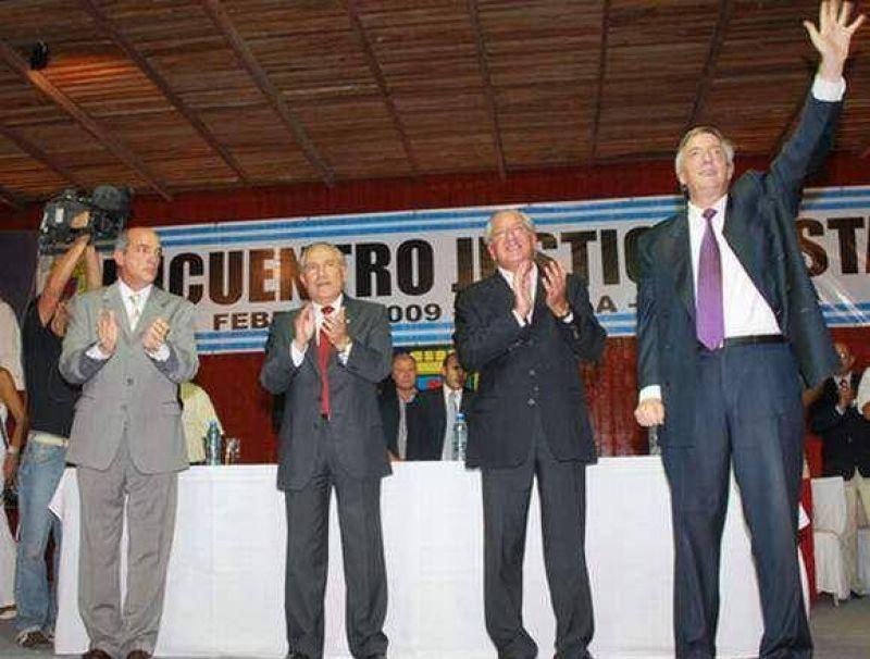 Fellner renovó el apoyo a Kirchner y crtiticó a la oposición