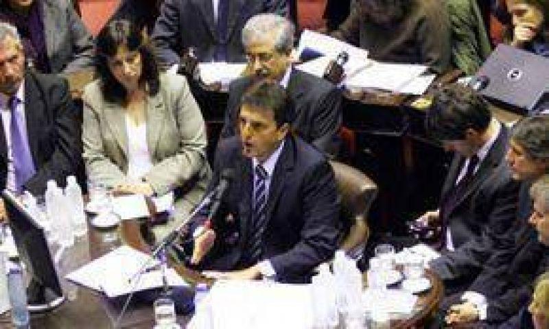 Diputados nacionales quieren interpelar a Massa y Bibiloni por el alud en Tartagal