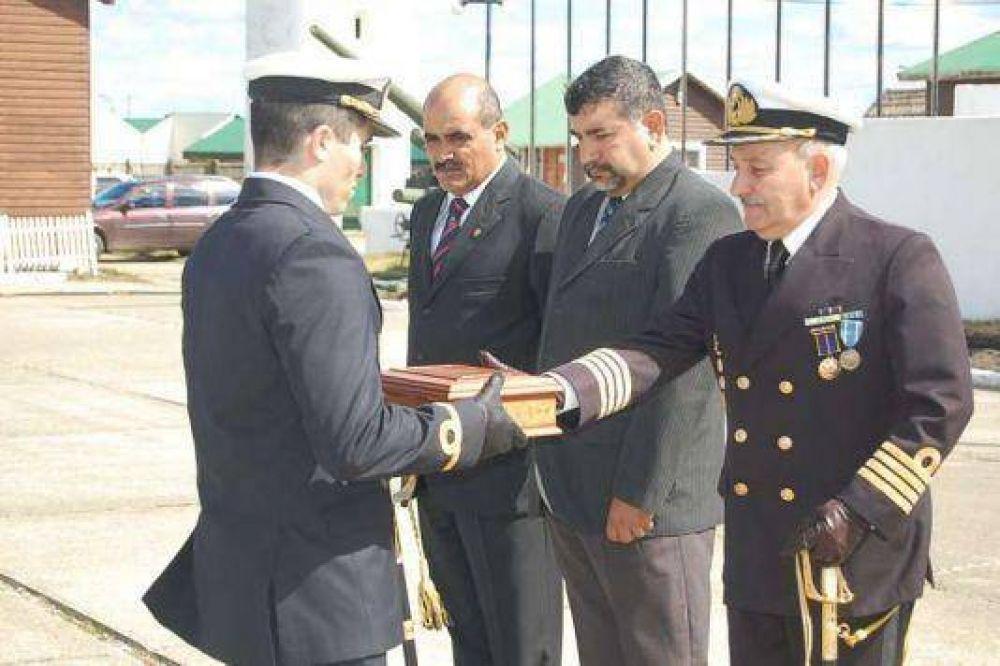 Cambio de mando en la comandancia de la Infantería de Marina.